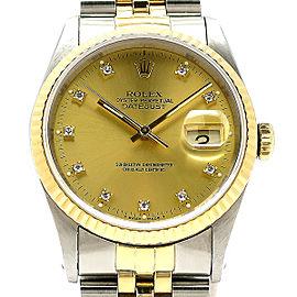 Rolex Datejust 16233G(E) 35mm Mens Watch