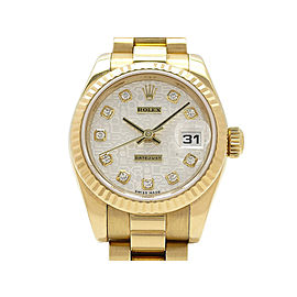Rolex Datejust 179178G(K) 26mm Womens Watch