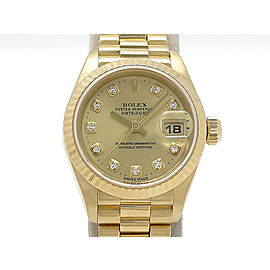 Rolex Datejust 69178G(W) 25mm Womens Watch