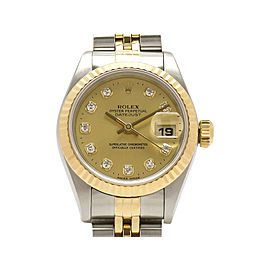 Rolex Datejust 69173G 26mm Womens Watch
