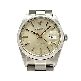 Rolex Oyster Perpetual Date Vintage 6694(3) 34mm Mens Watch