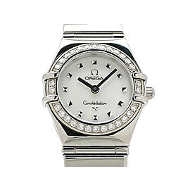 Omega Constellation Mini Mychoice DiamondBezeru 1465-71 22mm Womens Watch