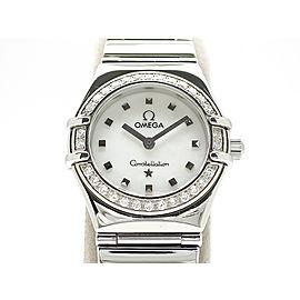 Omega Constellation mini_x000D_ My choice diamond bezel 1465-71 22mm Womens Watch