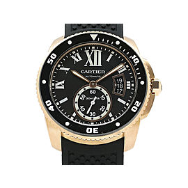 Cartier Calibre De Cartier Diver W7100052 42mm Mens Watch