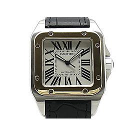 Cartier Santos100 LMsize W20072X7 Mens Watch