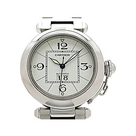 Cartier Pasha C Big Date W31055M7 35mm Unisex Watch