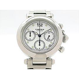 Cartier Pasha C Chronograph W31039M7 35mm Unisex Watch