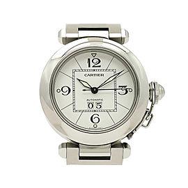 Cartier Pasha C Bigdate W31055M7 35mm Womens Watch