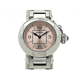 Cartier MiStainless Steel Pasha W3140008 Womens Watch
