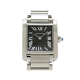 Cartier Tank Francaise W51026Q3 H25mm_W20mm Womens Watch