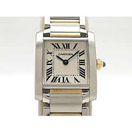 Cartier Tank Francaise SMsize W51007Q4 H25mm_W20mm Womens Watch