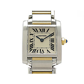 Cartier Tank Francaise W51007Q4 H25mm_W20mm Womens Watch