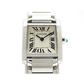 Cartier Tank Francaise SMsize W51008Q3 H25mm_W20mm Womens Watch