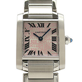 Cartier Tank Francaise W51035Q3 H25mm_W20mm Womens Watch