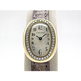 Cartier Mini Baignoire diamond bezel H25mm_W14mm Womens Watch