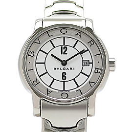 Bulgari Solotempo 29 ST29WSSD 29mm Womens Watch