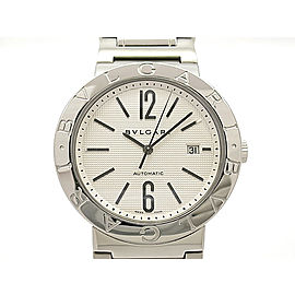 Bulgari Bulgari Bulgari 42 Automatic BB42WSSD/N Stainless Steel 42mm Mens Watch