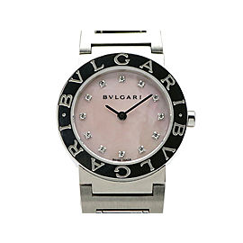 Bulgari BulgariBulgari26 12P Diamond BB26C11SS/12JN 26mm Unisex Watch
