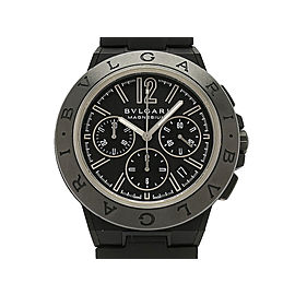 Bulgari Diagono Magnesium Chronograph DG42BSMCVDCH 42mm Mens Watch
