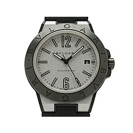 Bulgari Diagono Magnesium DG41C6SMCVD 41mm Mens Watch