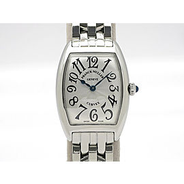 Franck Muller Tonneau Carbex 1752QZ H35mm_W25mm Womens Watch