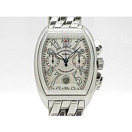 Franck Muller Conquistador Chronograph 8001CC H38mm_W28mm Mens Watch