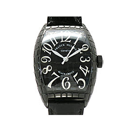 Franck Muller Tonneau Carbex 8880SC BLK CRO H47mm_W40mm Mens Watch