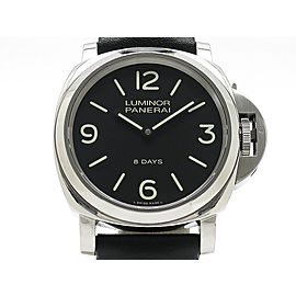 Panerai Luminor Base 8Days Acciaio PAM00560 44mm Mens Watch