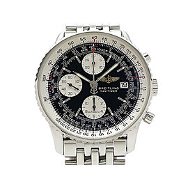 Breitling Navigation Timer Chronograph Vintage A142B02NP 41mm Mens Watch
