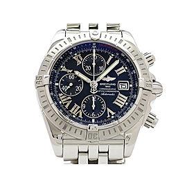 Breitling Chronomat Evolution A156B98PA 43mm Mens Watch