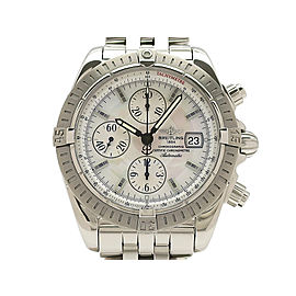 Breitling Chronomat Evolution A156A69PA 43mm Mens Watch
