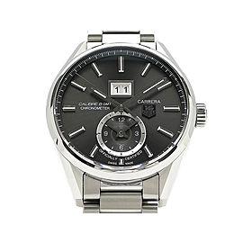 Tag Heuer Carrera Grand Date GMT WAR5012 41mm Mens Watch