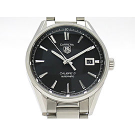 Tag Heuer Carrera Caliber 5 Automatic WAR211A 39mm Mens Watch