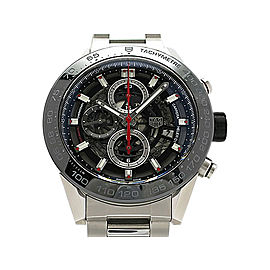 Tag Heuer Carrera Heuer 01 CAR2A1W.BA0703 Stainless Steel 45mm Mens Watch