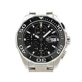 Tag Heuer Aquaracer Chronograph Caliber16 ceramic CAY211A-0 43mm Mens Watch