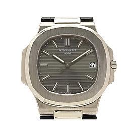 Patek Philippe Nautilus Automatic 5711G-001 Leather 42mm Mens Watch