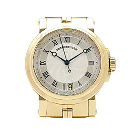 Breguet Marine II Large Date Automatic 5817BA 18k Yellow Gold 40mm Mens Watch