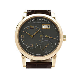 A. Lange & Sohne Lange 1 101.033 Leather 38mm Mens Watch