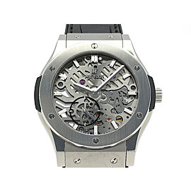 Hublot ClaStainless Steel ic Fusion ClaStainless Steel ico Ultrasin 515.NX.0170.LR 45mm Mens Watch