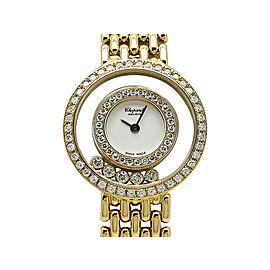 Chopard HappyDiamond DiamondBezeru 20/5691 25mm Womens Watch