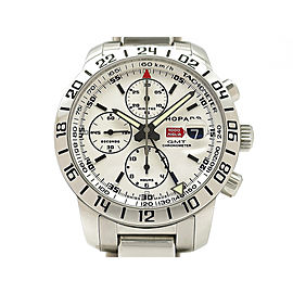 Chopard Millemiglia GMT Chronograph 15/8992-3002 42mm Mens Watch