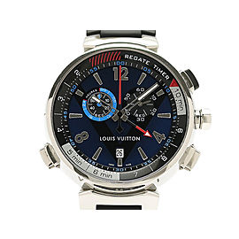 Louis Vuitton Tambour Chronograph Louis Vuitton Cup Regatta Q102D 44mm Mens Watch