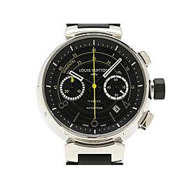Louis Vuitton Tambour Fly Q102B 43mm Mens Watch