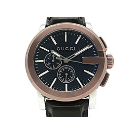 Gucci G Chrono YA101202 45mm Mens Watch