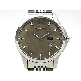 Gucci G-TimeleStainless Steel YA126310 Mens Watch