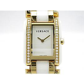 Versace Women's watches diamond bezel 70Q H30mm_w23mm Womens Watch