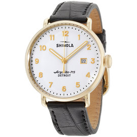 Shinola The Canfield 20001938 43mm Mens Watch