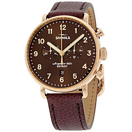 Shinola The Canfield 20044135 43mm Mens Watch