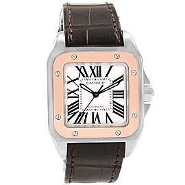 Cartier Santos 100 33.0mm Mens Watch