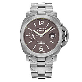 Panerai Luminor Marina Titanium Black Dial 44mm Automatic Mens Watch PAM00279